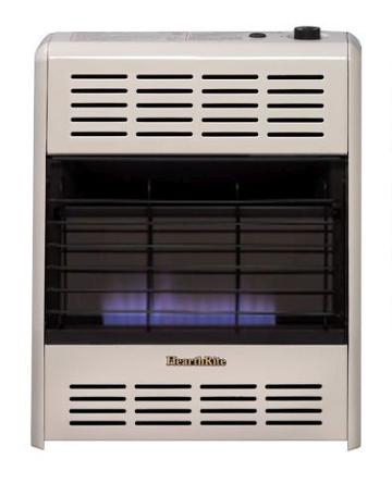 Empire HRW060MN Manual Control Vent-Free Heater-Nat, White