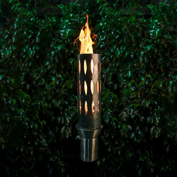Ellipse Stainless Steel Top Fire Torch #1 w/Top-Lite Torch Base - LP