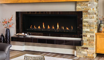 Superior DRL4060TEN 60'' Linear DV Fireplace NG, Electronic, 47k BTU