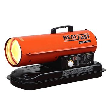 HeatFast HF75K BTU 75,000 Forced Air Kerosene Heater with Thermostat