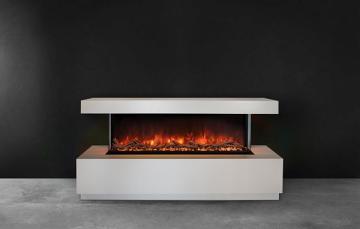 "Modern Flames 80"" Premium 2 x 4 Recessed WMC Electric Fireplace - ESP"