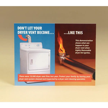 Copperfield 99203 Dryer Vent Sales Postcard - Pack of 100