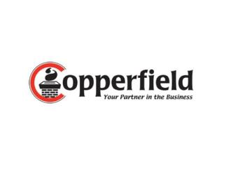 Copperfield 3602763 9'' x 13'' Copper Flue Extension - 34''H