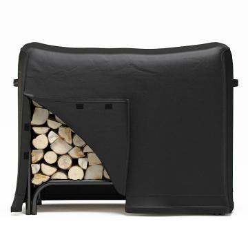 Regal Flame LRFP1004 4 Foot Black Water Resistant Firewood Log Rack Cover