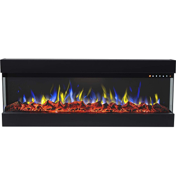 Regal Flame LW3560 Spectrum 60in Electric 3 Sided Wall Mounted Fireplace