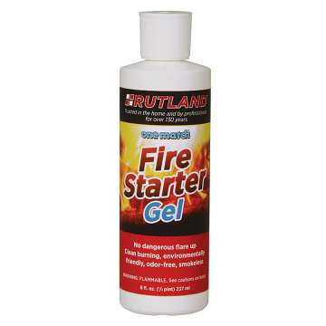 One Match Gelled Fire Starter, 8 Fl Oz