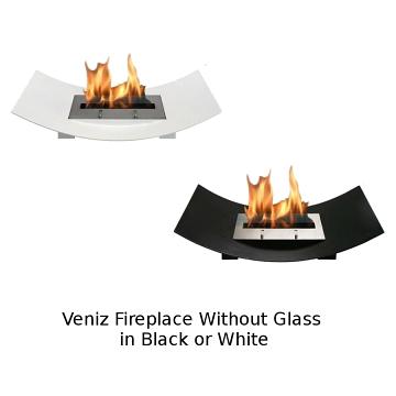 Bio-Blaze Veniz Bio-Ethanol Fireplace Without Glass Set
