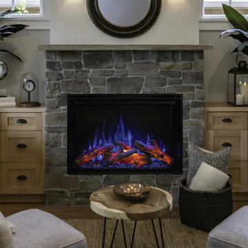 """Modern Flames 36"""" Redstone Conventional Fireplace"""