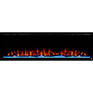 "Touchstone Sideline Elite 80044 100"" Recessed Electric Fireplace"