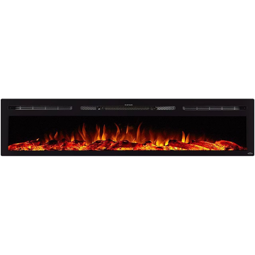 """Touchstone Sideline 80043 84"""" Recessed Electric Fireplace"""