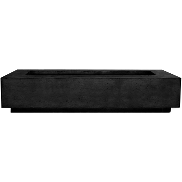 Prism Hardscapes Tavola 6 Fire Table in Ebony - NG