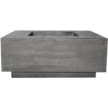 Prism Hardscapes Tavola 7 Fire Table in Pewter - LP