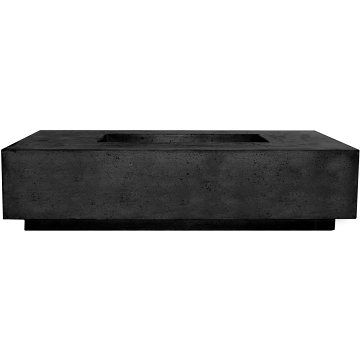 Prism Hardscapes Tavola 8 Fire Table in Ebony - NG