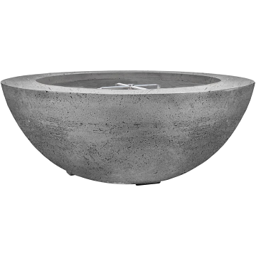 Prism Hardscapes Moderno 6 Fire Bowl in Pewter - NG
