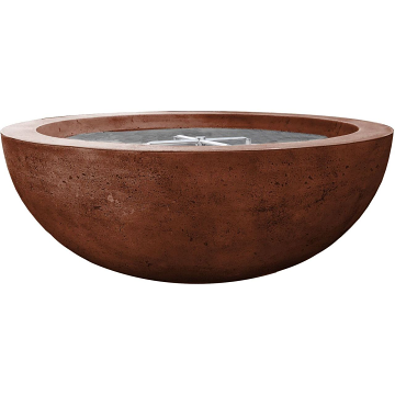 Prism Hardscapes Moderno 70 Electric Ignition Fire Bowl in Cafe - NG