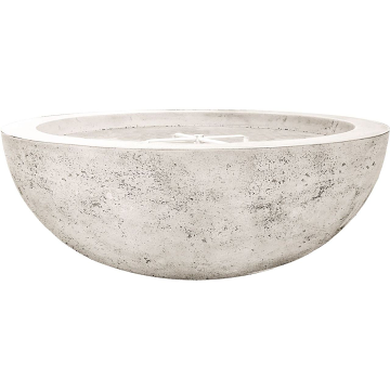 Prism Hardscapes Moderno 70 Electric Ignition Fire Bowl in Natural -NG