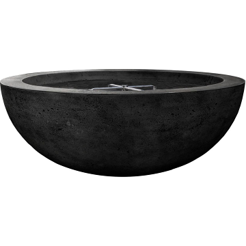 Prism Hardscapes Moderno 70 Electric Ignition Fire Bowl in Ebony - LP