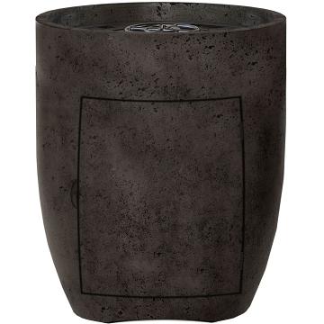Prism Hardscapes Pentola 3 Fire Bowl Enclosed Propane in Ebony - LP