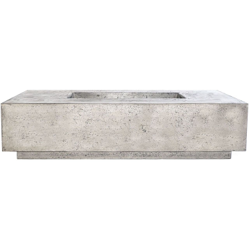 Prism Hardscapes Tavola 8 Fire Table in Natural - LP