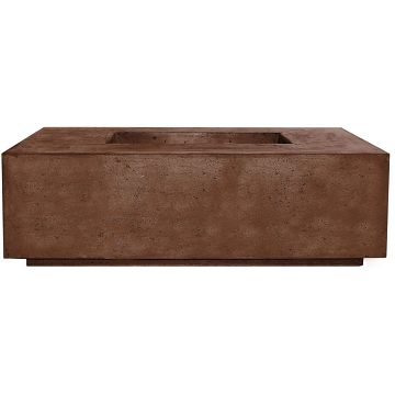 Prism Hardscapes Portos 68 Enclosed Propane Fire Table in Cafe - LP