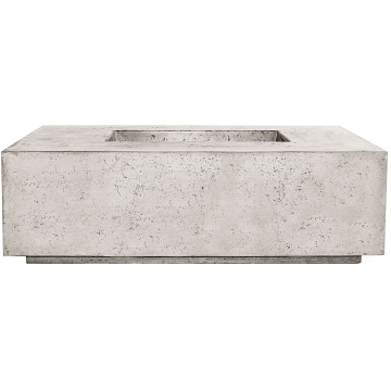 Prism Hardscapes Portos 68 Enclosed Propane Fire Table in Natural - LP