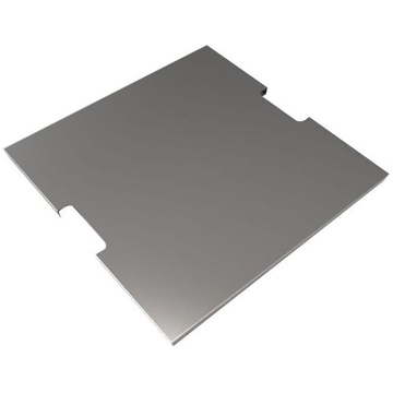 Elementi OFG147-SS Square Stainless Steel Lid for Fiery Fire Rock