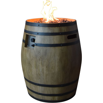 Elementi OFG615RW-LP Napa Bar Fire Pit