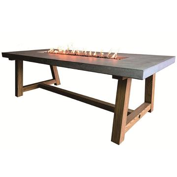 Elementi OFG201-LP Sonoma Dining Fire Table - Propane