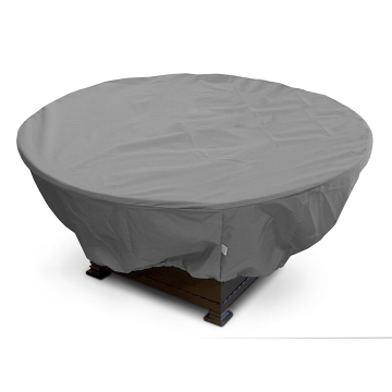 """KoverRoos 45""""Dia x 21""""H Weathermax Round Fire Pit Cover - Charcoal"""
