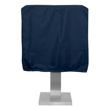"""KoverRoos 28""""W x 19.5""""D x 19""""H Weathermax Pedestal Grill Cover - Blue"""