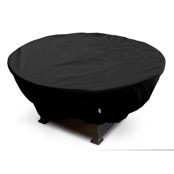 """KoverRoos 35""""Dia x 16""""H Weathermax Round Fire Pit Cover - Black"""