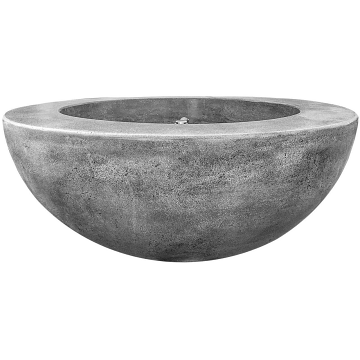 Prism Hardscapes Moderno 5 Fire Bowl in Pewter - NG