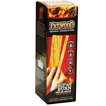 Copperfield 1 lb Fatwood Rip N Burn Color Box