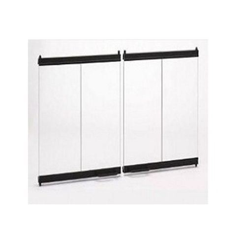 Outdoor Lifestyles Original Bi-Fold Glass Doors w/Black Trim for BE42