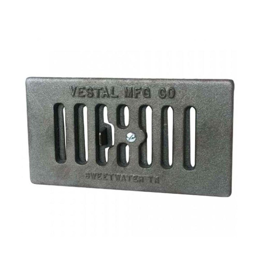 """Vestal Cast Iron Vented Ash Dump - 4.5"""" x 9"""""""
