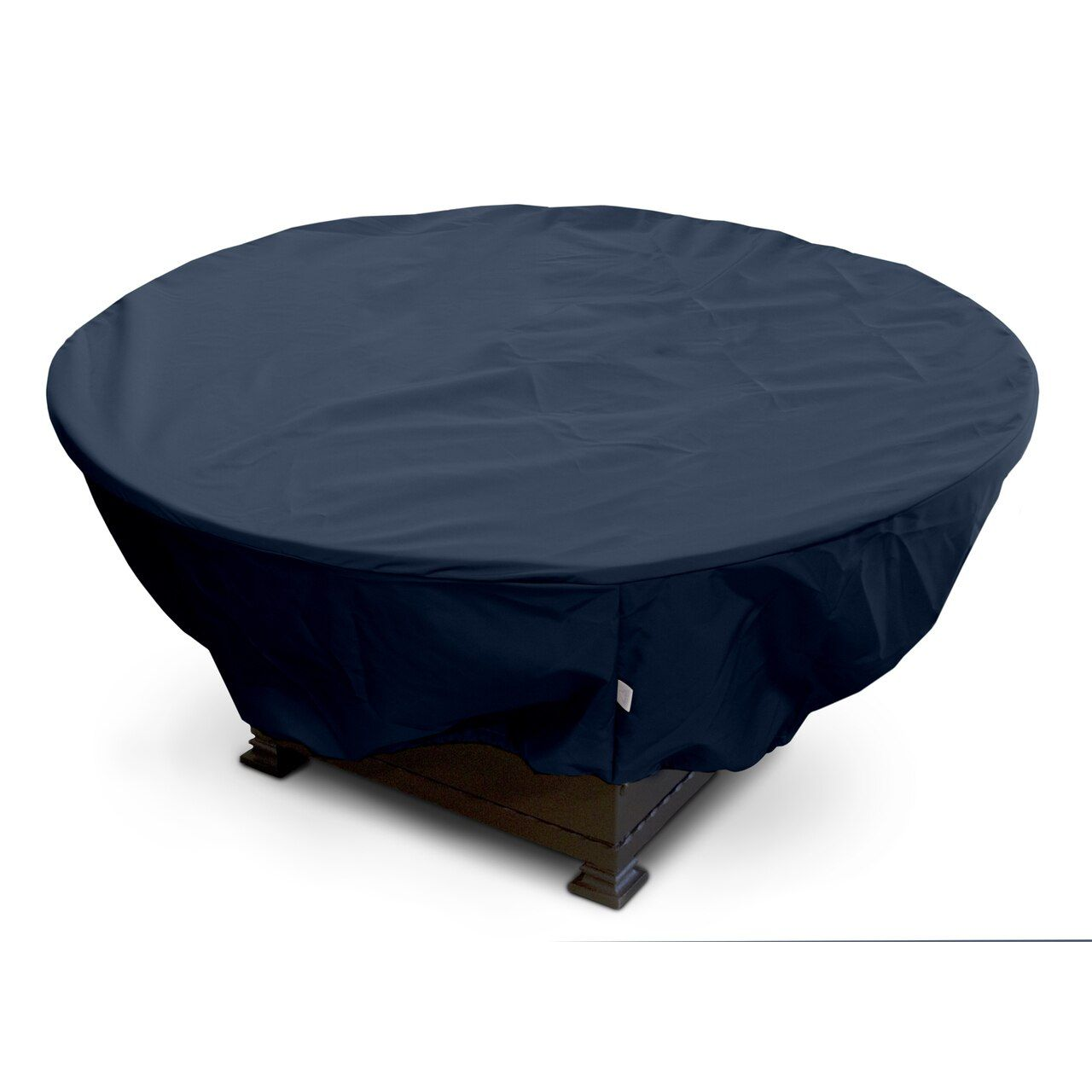 """KoverRoos 45""""Dia x 21""""H Weathermax Round Fire Pit Cover - Blue"""