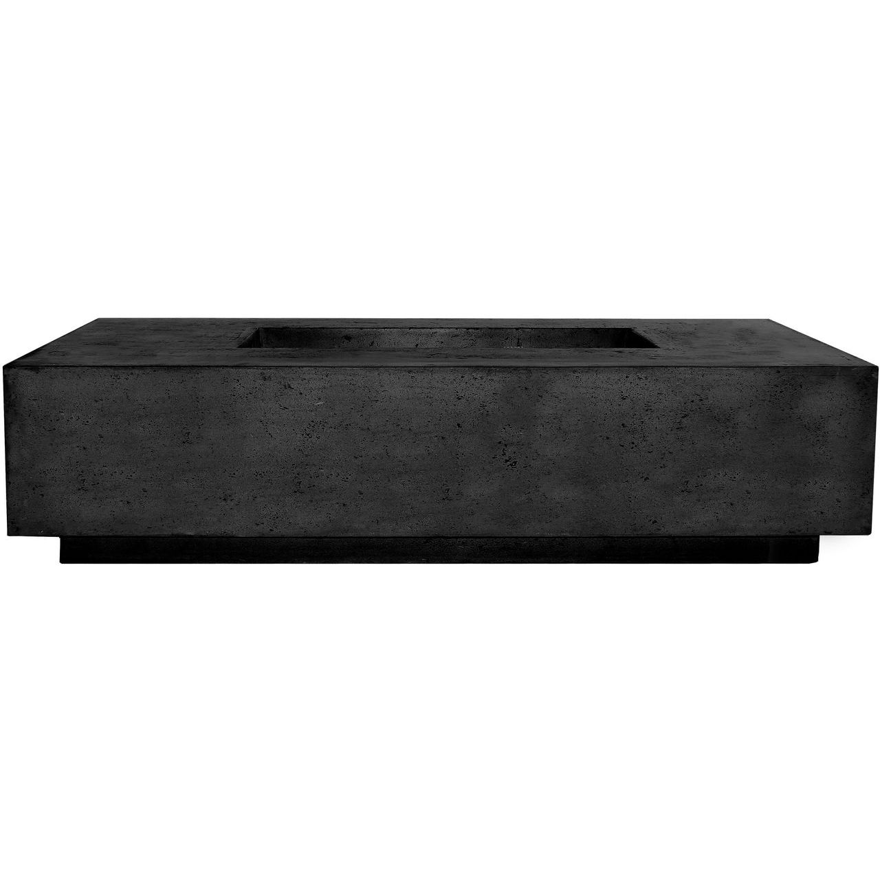 Prism Hardscapes Tavola 66 Slim Fire Table in Ebony - NG