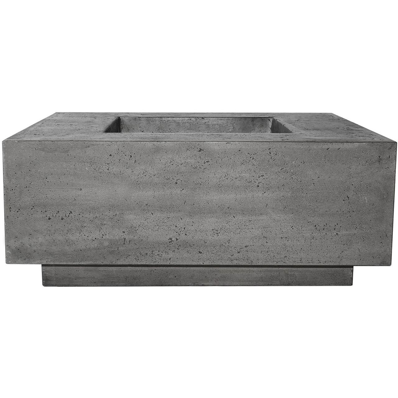 Prism Hardscapes Tavola 42 Fire Table in Pewter - LP