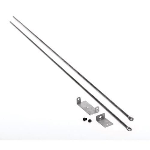 Woodfield Hanging Fireplace Spark Screen Rod Kit