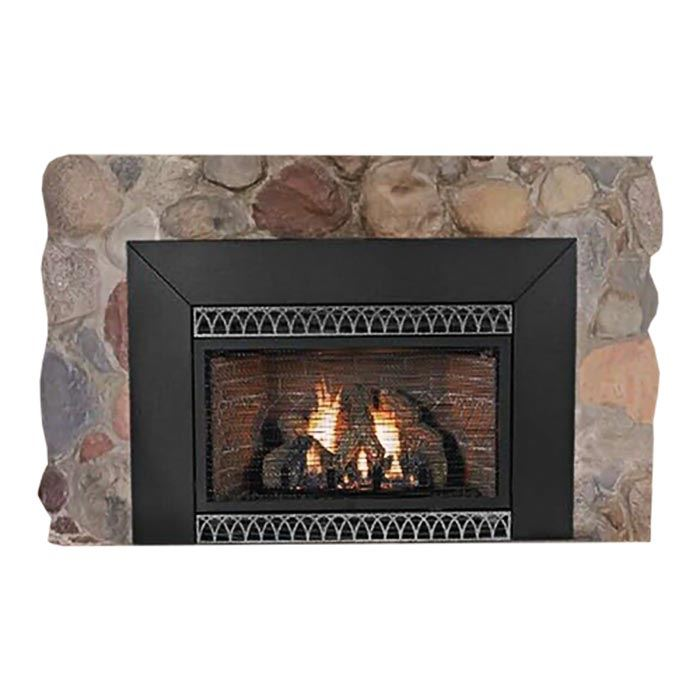 Insbrook Vent-Free IP 28000 BTU Fireplace Insert - Liquid Propane