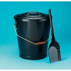 Black Ash Container & Shovel Set