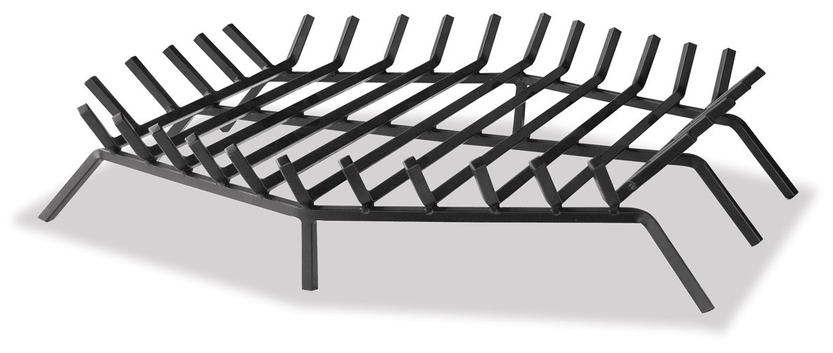 """36"""" Bar Grate - Hex Shape For Outdoor Fireplaces"""