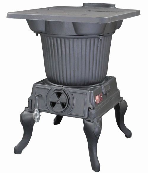 The Rancher Stove- Burns Coal Only