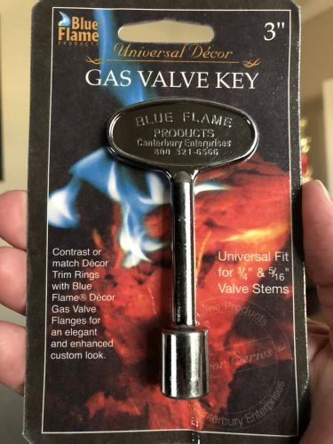 "3"" Universal Key Pewter By Blue Flame"