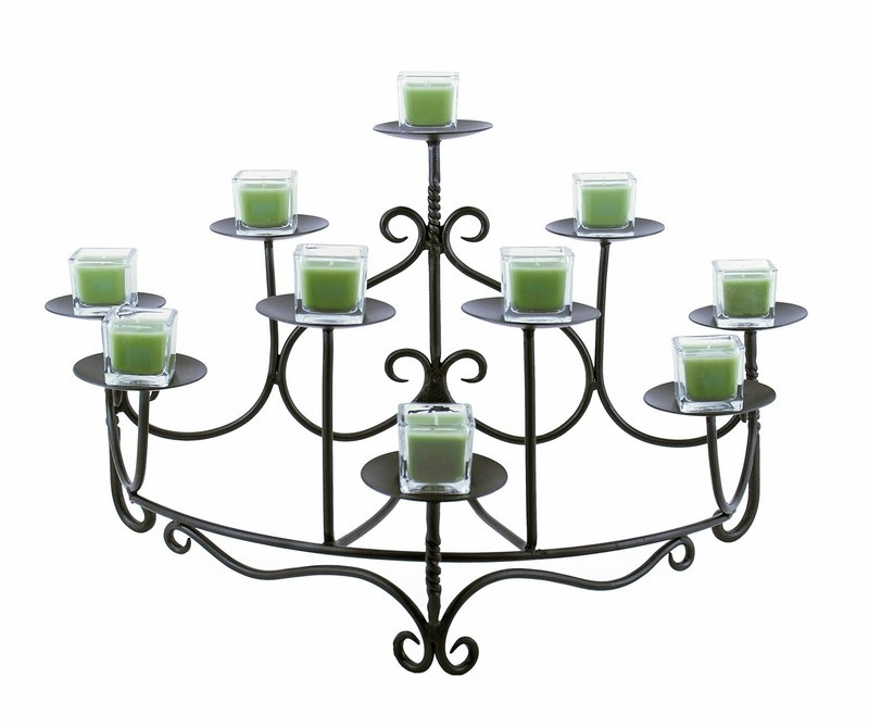 Spandrels Hearth Candelabra By Minuteman
