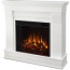 Real Flame 5910E-W Chateau Electric Fireplace - White