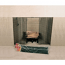 """48"""" X 20"""" Woodfield Hanging Fireplace Spark Screen"""