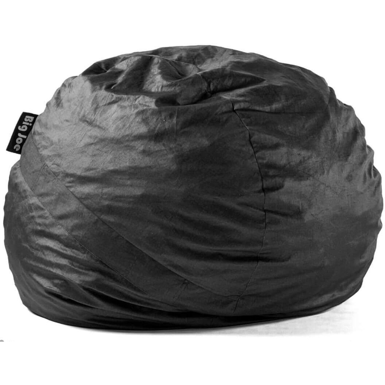 Big Joe Fuf Large Bean Bag Cover Only - Black Lenox