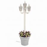 431- Cambridge Park Style Four Lantern Planter