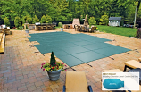 Mesh Cover for 17'6 x 36'8 Pool with Extension Jewel Center End Step